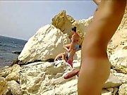 Latin Nude Beach Cummer
