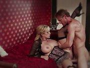 Blonde bombshell Stormy Daniels loves big dicks