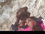 Estrangeiro - Hidden Cam Couple, black dude fucks big butt