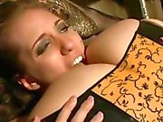 Tart Kelly Divine rims a horny Bobbi Starr's butt