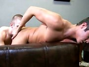 Adam Campbell gives up his ass to hot stud Jack Griffin in