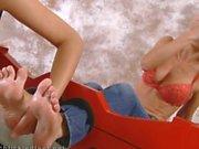 Tickling Feet Jana Cova