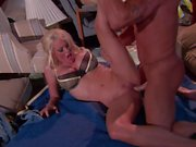 Stormy Daniels licks balls and blows