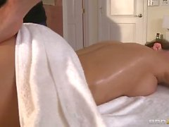 Perfetc bodied Busty milf Veronica Avluv gets boned after massage