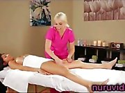 Britney Amber and Megan Salinas know how to have a sensual massage