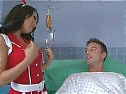 Sexy Nurse Asa Akira Does Her Job