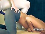 Amazing hot girlsongirls in pantyhose