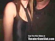 spunk slut Zoe Gets spunk Coated & Creampied In Public Porn Theater