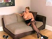 Bigtitted euro cocksucker POV fucked by agent