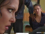 Brazzers Network Criminals wife Jessica Jaymes fucked by a hot cop