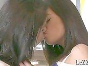 Erotic giving a kiss sensation