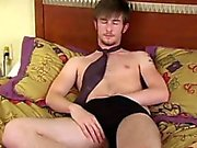 Gay clip of UK twink Justin is back in his second video! Jus