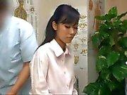 Japanese secretary wants sex during her massage