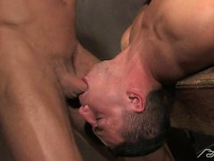 Erik Rhodes and Marc Dylan take turns sucking each other off