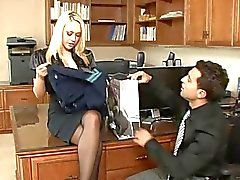 Kagney Linn Karter: Blonde Secretary in HD!