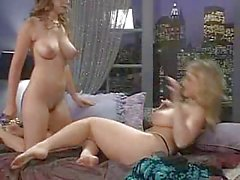 Danni Ashe In Bed With Erica Campbell