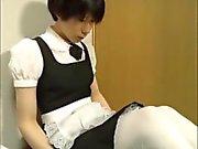 Amateur Japanese CD cute maid jack