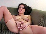 Reality masturbation by sexy Linda