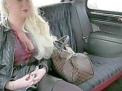 Busty Princess banged with the driver