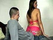 Latina's Got Two Treats For His Thick Cock