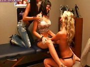 Janessa Brazil an Destiny Dixon Lesbian 3some