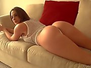 Chanel Preston shows off her round ass and gets licked