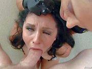 Hardcore scene with Francesca Le Mark Wood and Madelyn Monroe