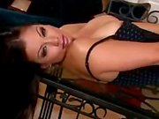 Aria Giovanni with some makeup on
