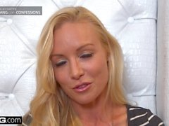 BANG Confessions Kayden Kross sexy lap dance leads to ass fucking