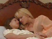 Lesbian babes Angela Sommers and Shyla Jennings