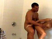 Bathroom pornstar fuck