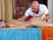 Alluring Katie Jordin gets nude in front of her mother's