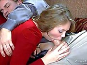 Young chick Jessie Andrews is good at Cock Sucking