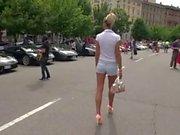 LGH - Tamia High Heels - Public
