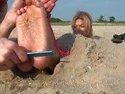 TickleIntensive - Lacey Scott's Beach Day