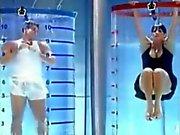 brazilian hottie on gameshow upskirt in tank