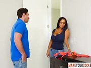 Hot Mom Ava Addams Caught Son