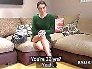 Spanish porn model bangs in uk casting