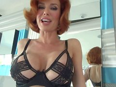 Shaved MILF Veronica Avluv gets anal fingered by rocco