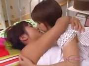 Asian Girl Kissed Getting Her Small Tits Rubbed Fingered In Doggy On The Bed