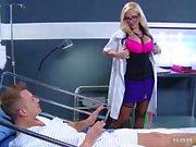 Round assed nurse Azblonde fucked hard
