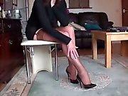 long legs in stockings 2