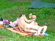 Nude Beach - They like it Doggy Style