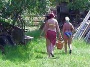 BBW Mature Garden Party