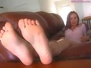 Alexis Capri - Socks and Bare Feet Show