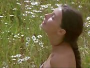 Busty brunette Renata Dancewicz in 'Erotic Tales' naked outside