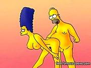 Simpsons hentai porn