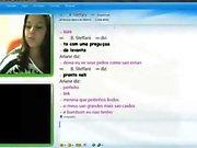 Novinha gostosa no MSN