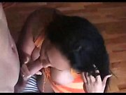 Hard cock between Alanah Raes big boobs