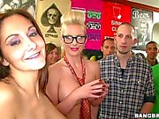 Ava Adams crash at dorm party with Phoenix and Diamond
